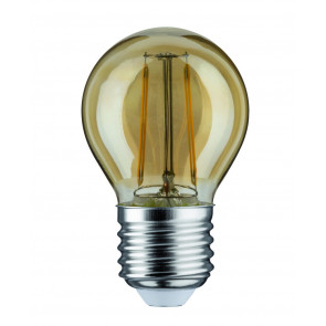 LED Tropfen E27 2,5W 200lm 2500K gold