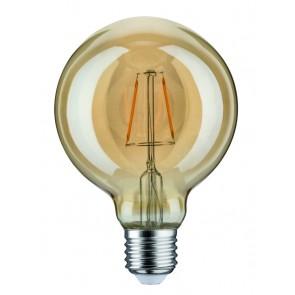 LED Globe 95 2,5W E27 230V Gold 1700K