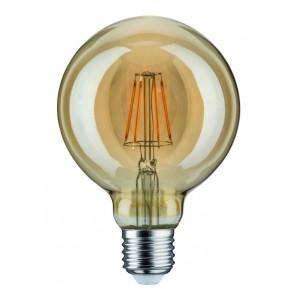 LED Globe 95 6,5W E27 230V Gold 1700K