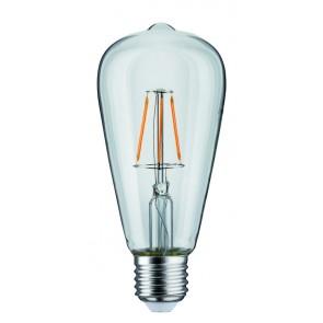 LED Rustika (ST64) 4W E27 230V Klar 1800K