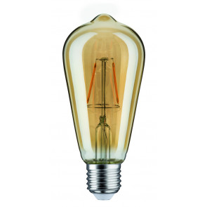 LED Rustika, 2,5W, E27, 230V, Gold, 1700K