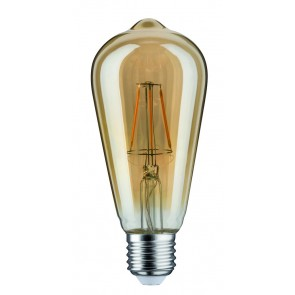 LED Rustika (ST64) 4W E27 230V Gold 1700K