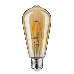 LED Vintage Rustika 6W E27 230V Gold Dimmbar 1700K