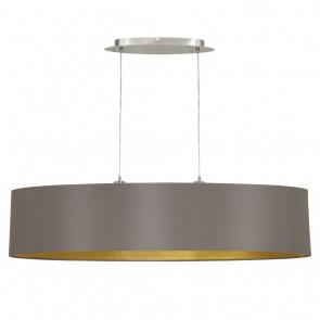 Maserlo, Länge 100 cm, Cappuccino-Gold