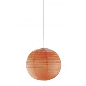 Paper, Ø 40 cm, orange, ohne Schnurpendel
