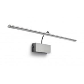 MYL Mahogany LED Wandl Stahl gebürstet 900lm, L 60,4 cm