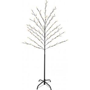 Außenleuchte LED Baum Schwarz, 128xLED