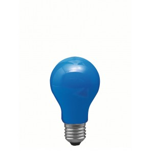 Paulmann E27 25W 6 cm, blau
