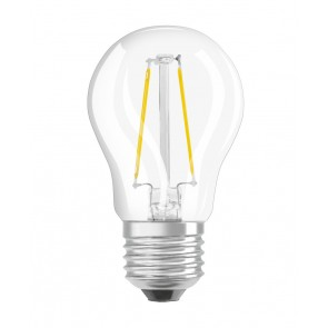 LED RETROFIT P25 2W E27 klar non dim 250 LM BLISTER