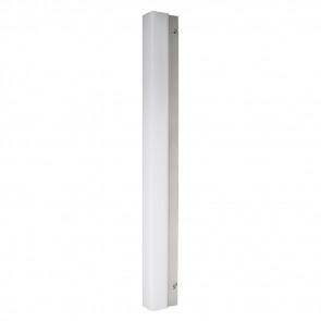 Led Mirror Light Square Bathroom  Länge 60 cm metallisch 1-flammig rechteckig