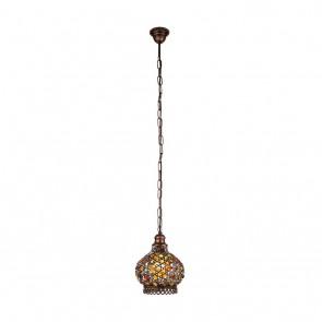 Jadida, Höhe 110m, Ø 20 cm, kupfer-antik- bunt