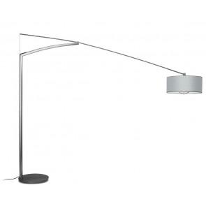 Balance, Schirm Aluminiumfäden, Tiefe 260 cm, nickel matt