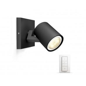 Runner, LED, 1-flammig, Inkl. Dimmschalter, Farbtemperatur änderbar, schwarz
