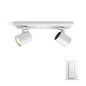 Runner, LED, 2-flammig, Inkl. Dimmschalter, Farbtemperatur änderbar, Weiß