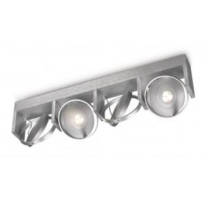 Particon, LED, 4-flammig, dimmbar, grau