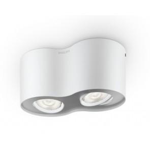 Phase, LED, 2-flammig, weiß