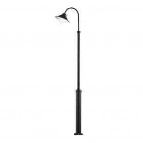 Vega, LED, IP23, dimmbar, Höhe 240 cm, schwarz