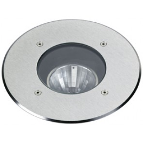 Erdeinbaustrahler, Edelstahl, LED