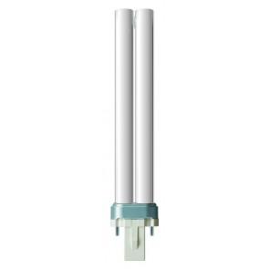 Energiesparlampe PL-S 2-Pin, G23, warmweiß, 10000 Std, 9W