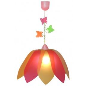 Blüte Schmetterling pink-orange