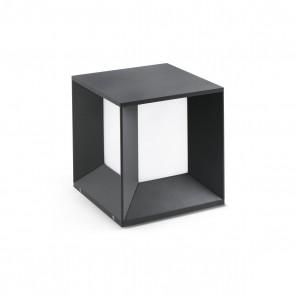 Mila Post Lamp Dark Grey LED 18W 4000K