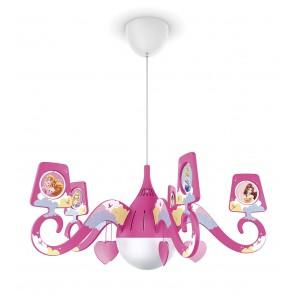 Prinzessinnen, Ø 59,1 cm, pink, mit Bildern
