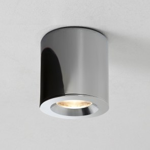 Kos (7175), LED, rund, IP65, Ø 8 cm, chrom
