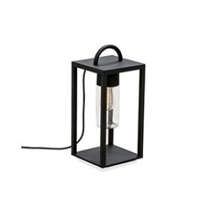 Bologna Höhe 45,5 cm schwarz 1-flammig quaderförmig