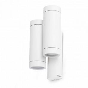 Steps Höhe 27 cm weiß 4-flammig zylinderförmig