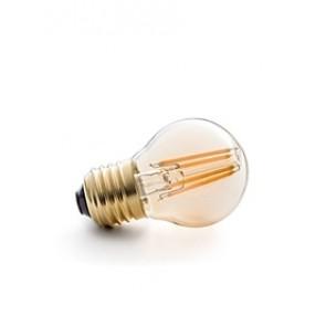 E27 LED Filament bersteinfarben, getöntes Glas 4W, 2200K, nicht dimmbar