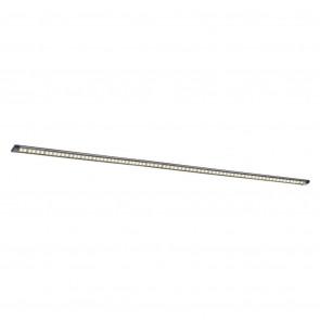 Pipe Länge 100 cm metallisch 1-flammig rechteckig