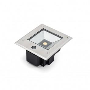 Bodenspot LED, 3000K, 1000lm, Dämmerungssensor