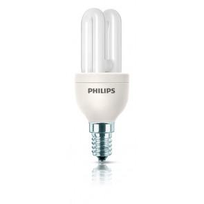 Energiesparlampe Genie, E14, warmweiß, 10000 Std, 5W