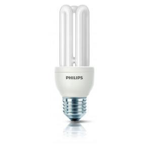Energiesparlampe Genie, E27, warmweiß, 10000 Std, 14W