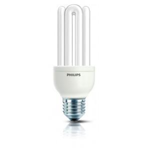 Energiesparlampe Genie, E27, warmweiß, 10000 Std, 18W