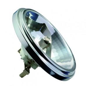 HV Halogen Reflektor AR111 24° 75W G53 12V 111mm Silber