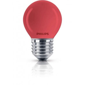 Partylampe Tropfen farbig, E27, 1000 Std, dimmbar, 15W, rot