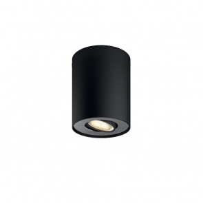 Philips Hue Pillar 1-er Spot, Erweiterung, Schwarz