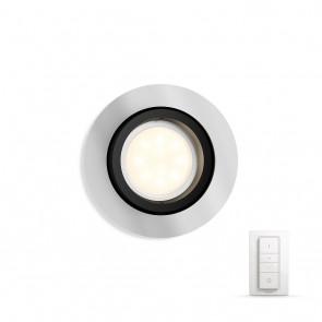 Milliskin, LED, rund, 250lm, Aluminium, inkl. Dimmschalter