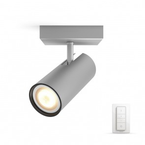 Buratto, LED, 1flg., 250lm, Aluminium, inkl. Dimmschalter