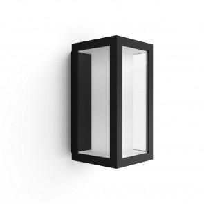 White & Color Ambiance Höhe 24 cm schwarz 1-flammig eckig