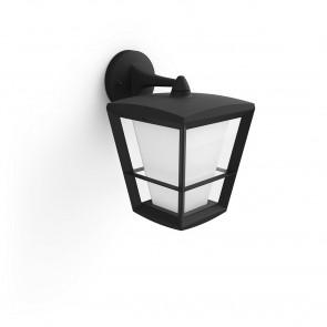 White & Col. Amb. Econic Höhe 31,2 cm schwarz 1-flammig viereckig