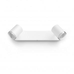White Amb. Adore weiß 2 flg. 2 x 350lm Dimmschalter