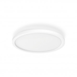 White Amb. Aurelle Ø 39,5 cm weiß 1-flammig rund