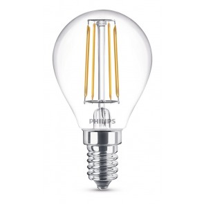 LED Classic E14 (P45) 4W (ersetzt 40W), 470lm, warmweiß 2700K, klar