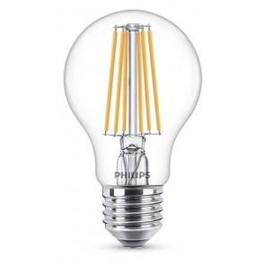 LED Classic E27 (A60) 8W (ersetzt 75W), 1055lm, warmweiß 2700K, klar