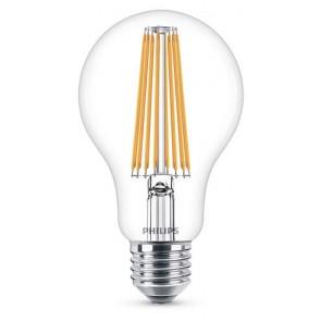 LED Classic E27 (A67) 11W (ersetzt 100W), 1521lm, warmweiß 2700K, klar