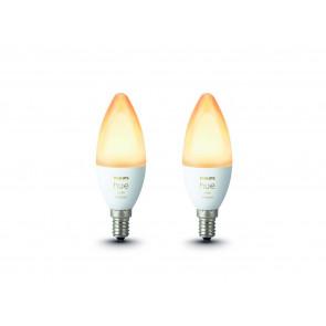 White Amb. 2er-Set E14 5,2 W 470 lm