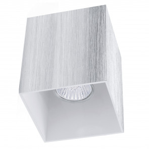 Bantry Höhe 12 cm grau 1-flammig quaderförmig