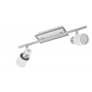 Davida, inkl LED, 2-flammig, dimmbar, schwenkbar, chrom